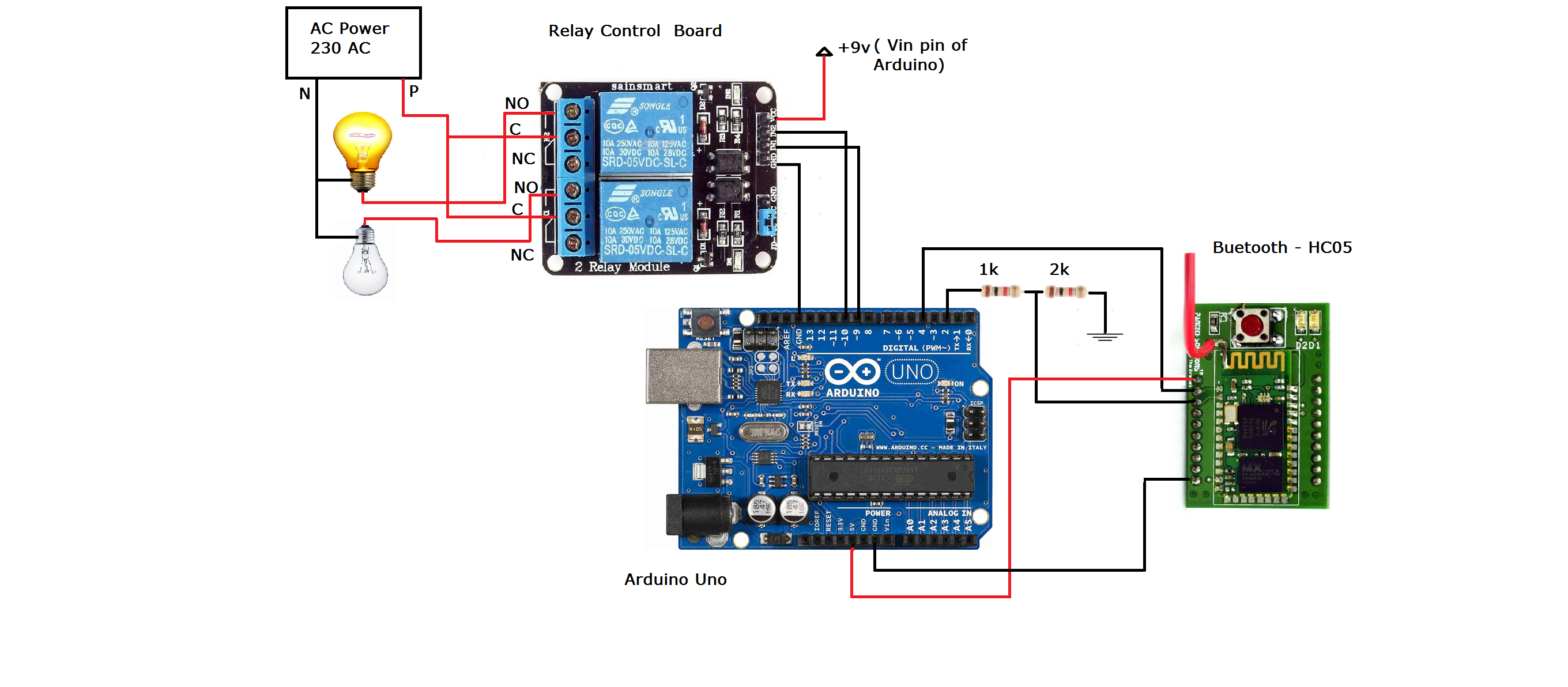 Arduino Based Home Automation Download Image 5vdc Power Supply Circuit Diagram Of Pc Android