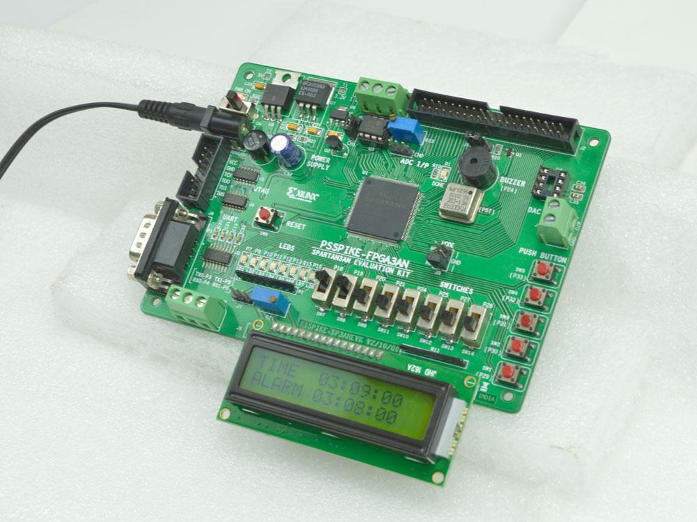 Digital Clock using Output Image