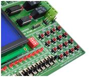 Matrix Keypad Placement in Spartan3 FPGA Development Kit
