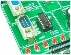 UART Placement in Spartan3 FPGA Development Kit