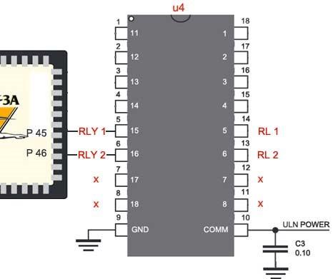 Interfacing relay with Virtex5 FPGA Development Kit