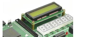 LCD Placement on Spartan6 FPGA Development Kit