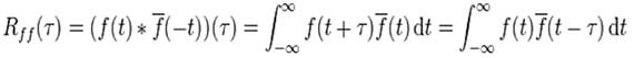 autocorrelation formula
