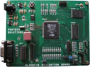 blackfin-evaluation-board-components
