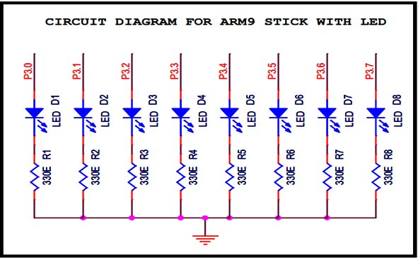 circuit-diagram-to-interface-led-with-arm9-stick-board
