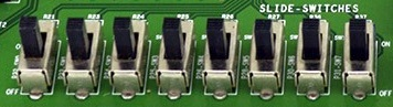 Digital Inputs Toggle Switch