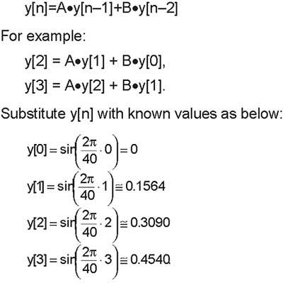 iir-filter-formula