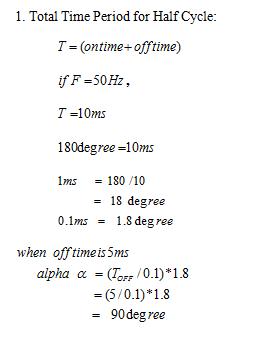 Model calculations