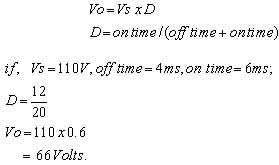 output-voltage-formula