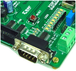 UART Interface with Spartan3an FPGA Starter Kit
