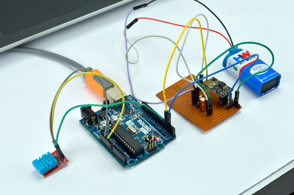 IoT Based Humidity and Temperature Monitoring Using Arduino Uno