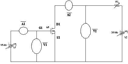 VI Characteristics of MOSFET