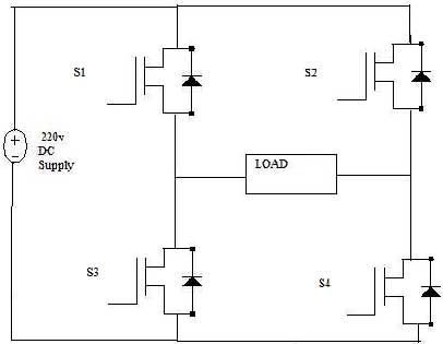 homemade phase converter wiring diagram introduction of igbt based single phase pwm inverter  igbt based single phase pwm inverter