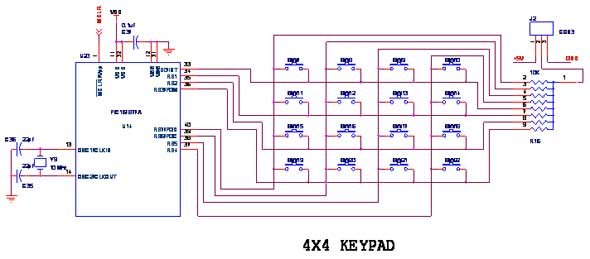 How To Interface Keypad With Pic16f877a Pic Advanced