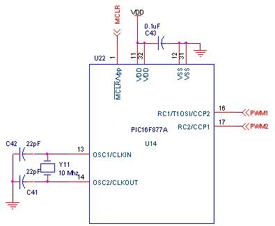 generating pwm with pic16f877a pic advanced development board rh pantechsolutions net