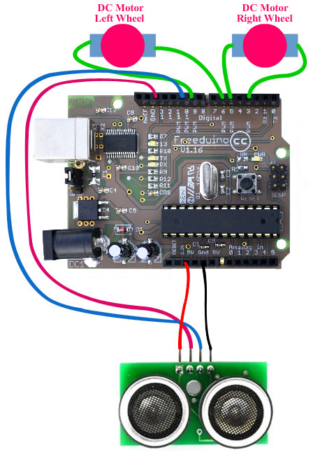 circuit-diagram-to-interface-ultrasonic-sensors-with-arduino