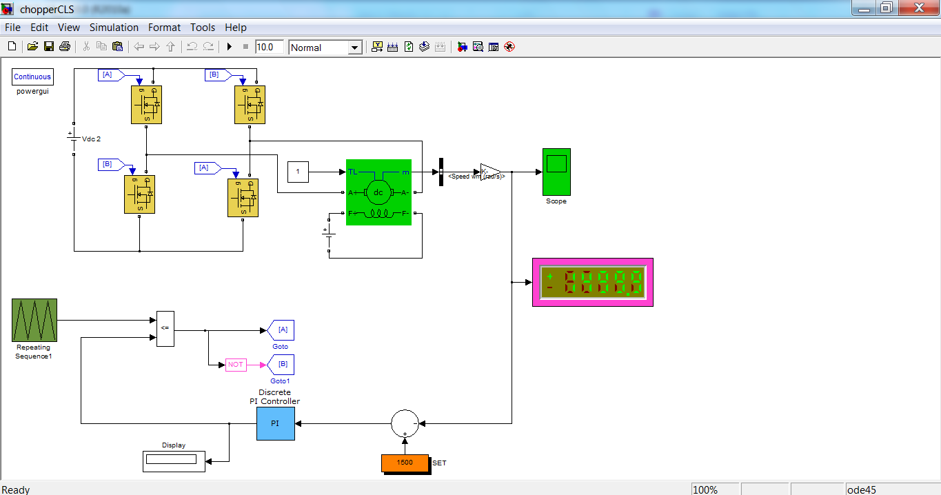 Block Diagram Of Robot Control System Electrical Wiring Example Servo Motor Simulation In Matlab Impremedia Net