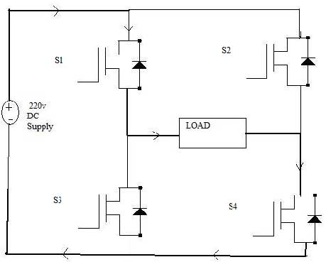 Power Inverter Circuit Diagram Using Igbt
