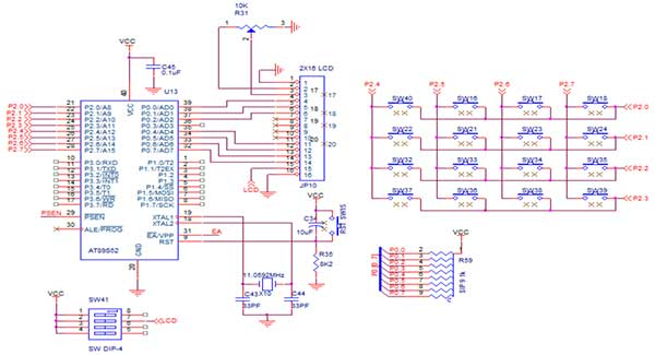 How To Interface Keypad With 8051 Advanced Development Board