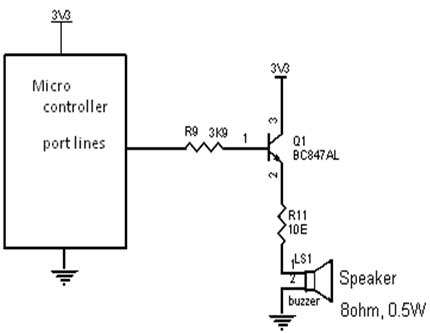 How To Interface Buzzer With Pic16f877a Pic Advanced Development Board on alternating current