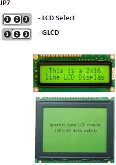 LCD | 128x64 GLCD Selection