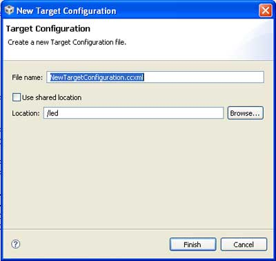 new-target-configuration-for-tms320f2812