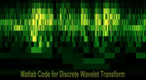 Read more about the article Matlab Code for Discrete Wavelet Transform