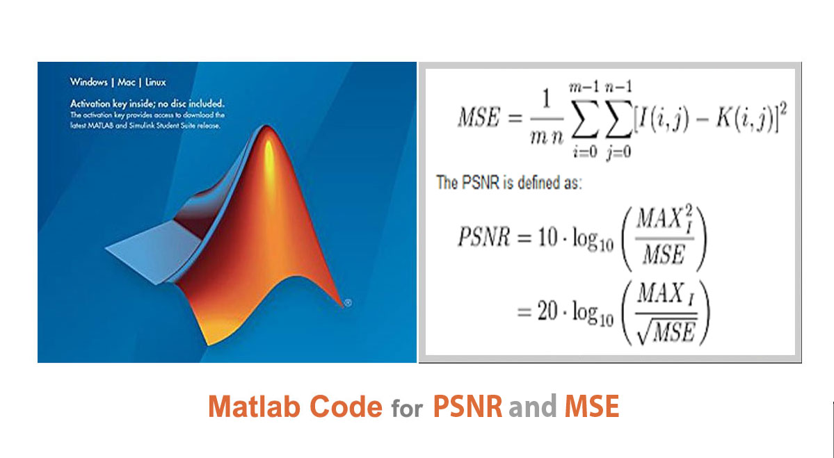 Read more about the article Matlab Code for PSNR  and MSE
