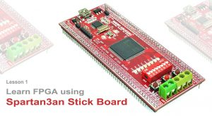Read more about the article Lesson 1: Learn FPGA using Spartan3AN FPGA Project kit.