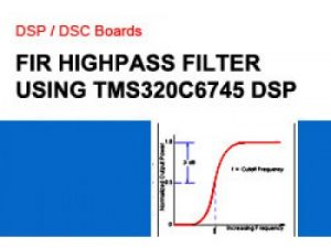 Read more about the article FIR HIGHPASS FILTER USING TMS320C5505 DSP