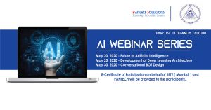 Read more about the article Future of AI – IETE -Pantech Live webinar series.
