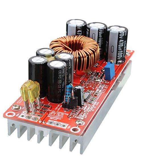 1200W 20A DC Converter Boost Step Up Power Supply Module Input 10-60V Output 12-83V