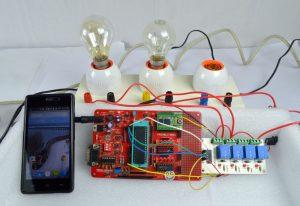 Wireless relay control using Bluetooth
