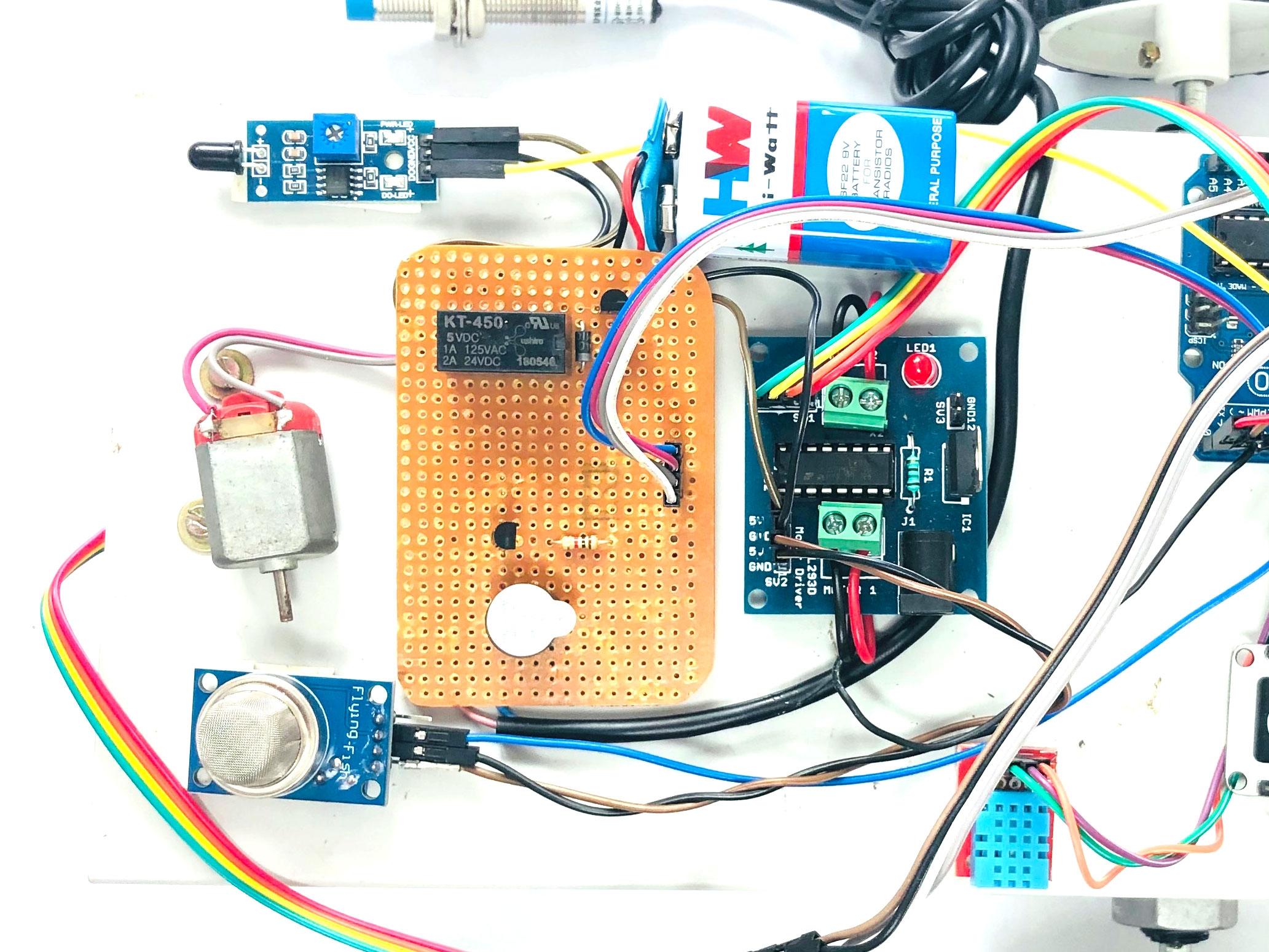 Family Robot Using Arduino Uno and Nodemcu Esp8266
