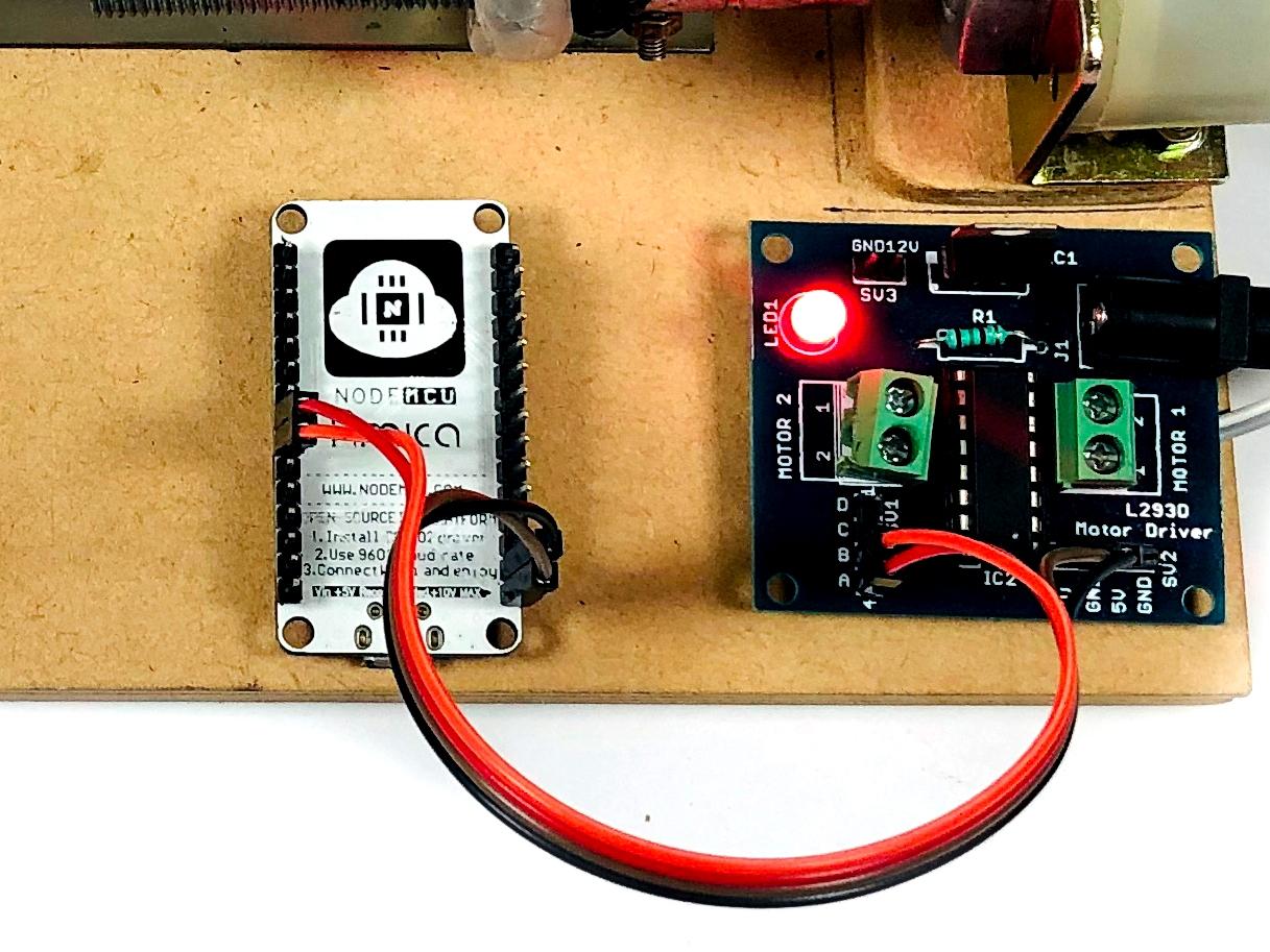Blynk App Based Smart Door Lock System