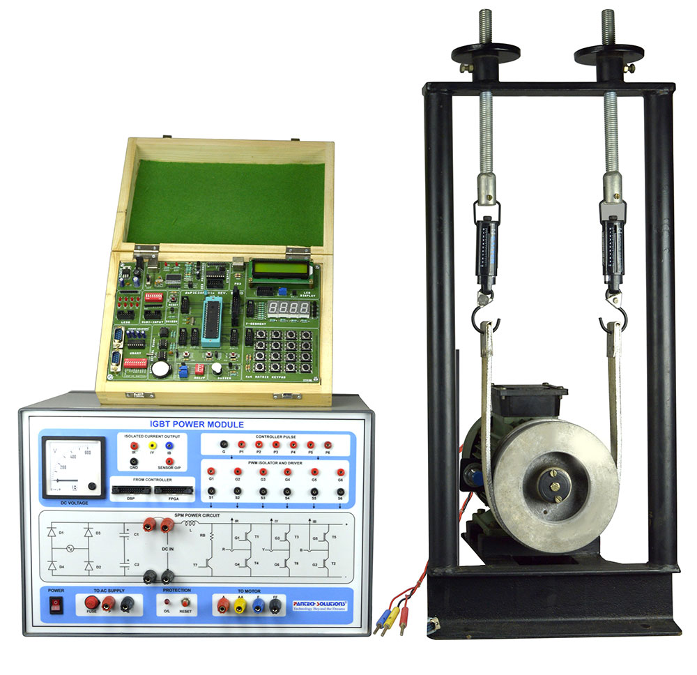 3 Ph Induction Motor Control Trainer Kit