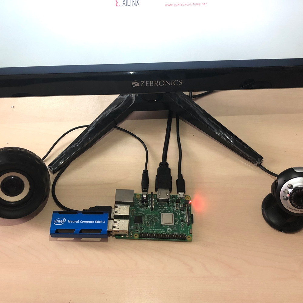 Real-time object recognition using Raspberry Pi with Neural Compute Stick 2