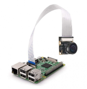 5MP OV5647 Wide Angle Fish-eye Lens Night Vision Camera for Raspberry PI