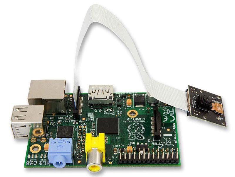 5MP NoIR Camera for Raspberry Pi