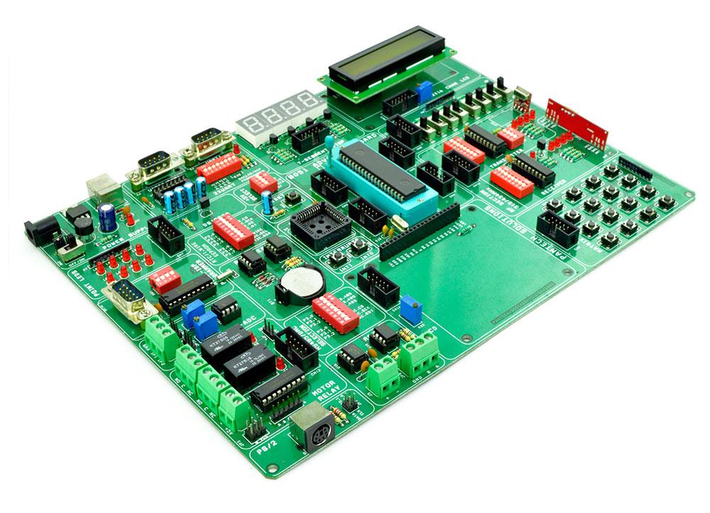 8051 Advanced development board