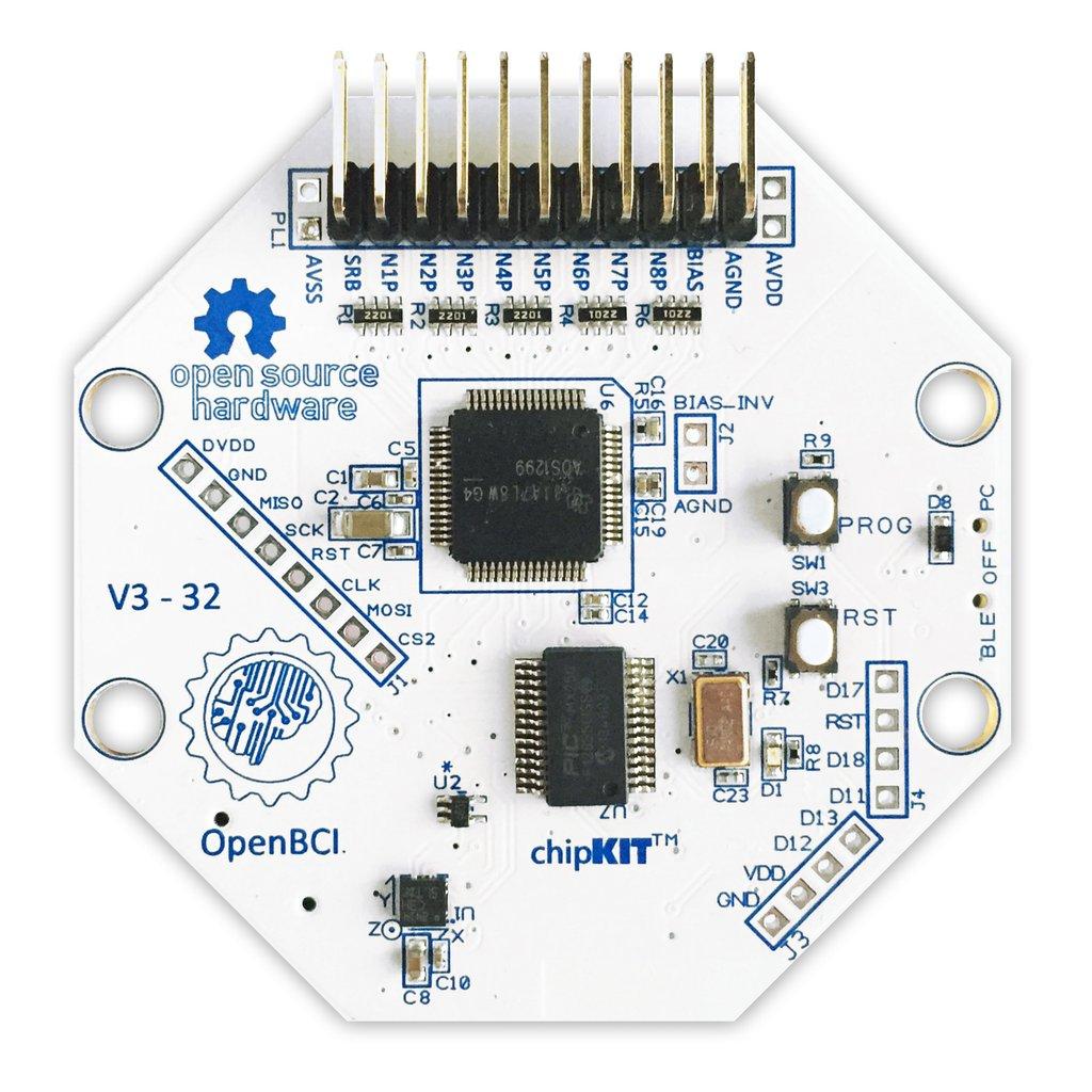 Cyton Biosensing Board Kit (8-channel) Open BCI