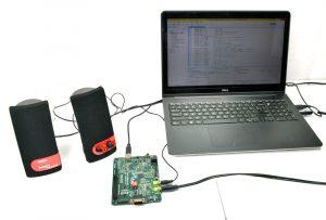 1 khz Audio Tone Generation Project Using TMS320C5505 DSP KIT