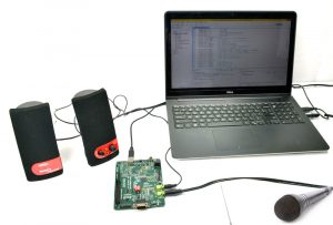 Echo Generation Project Using TMS320C5505 DSP KIT