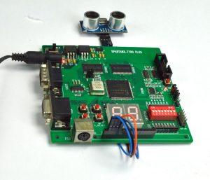 FPGA Implementation of distance Measurement with Ultrasonic Sensor