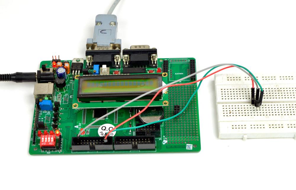 ARM-7 Digital temperature controller