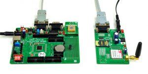 ARM-7 Vehicle location using GSM / GPS