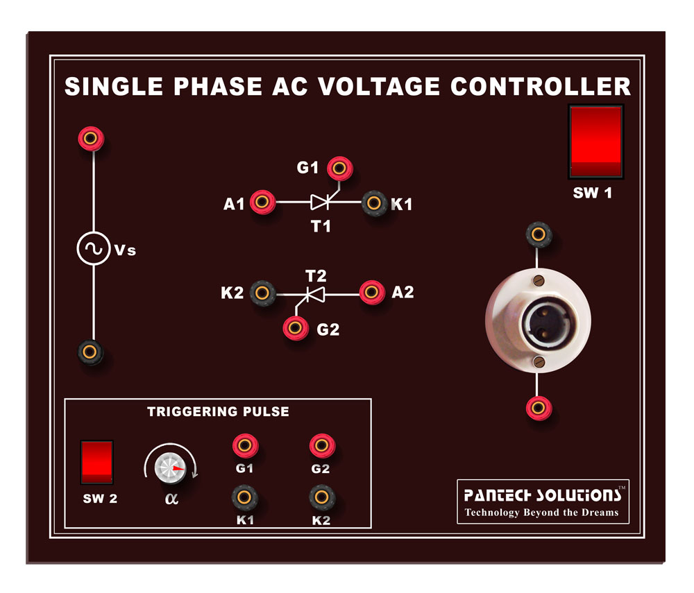 AC Voltage Controller using SCR