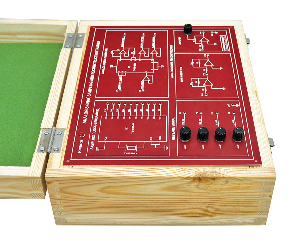 Analog Signal Sampling and Reconstruction Trainer
