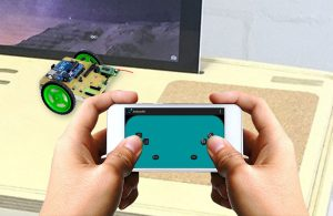 Android controlled arduino robot car