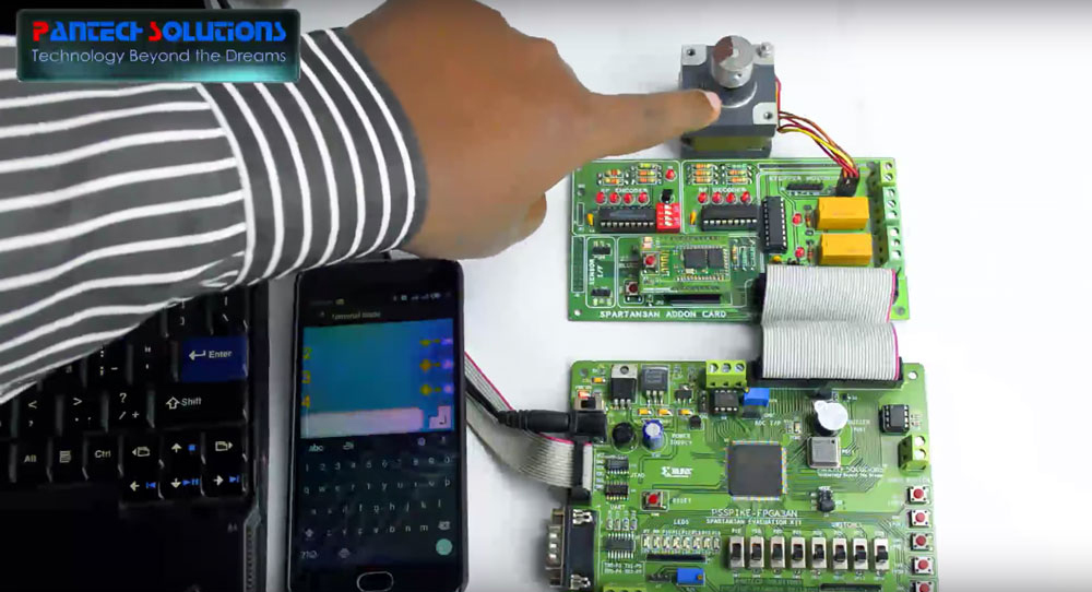 Bluetooth Based Wireless Home Automation System Using Spartan3an FPGA Starter Kit